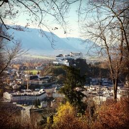 Hohensalzburg, Blick von Stadtaussicht