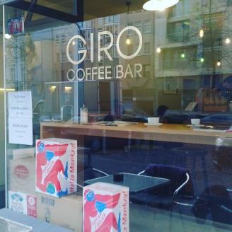 """Die """"GIRO Coffeebar"""" am Ernst-Reuter-Platz."""